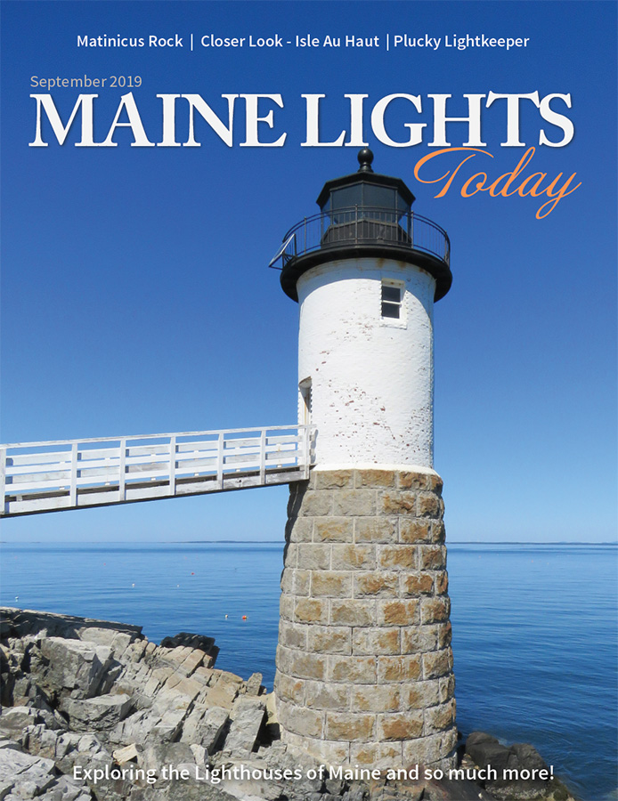 Maine Lights Today Magazine September 2019 Cover