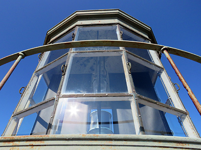 Lantern at Moose Peak Lighthouse