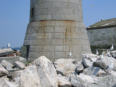Base of Boon Island Light