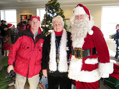 Brian Tague, Dot Black and Flying Santa