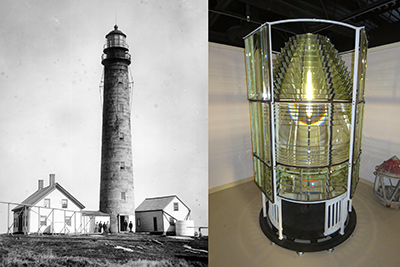 Petit Manan Lighthouse & Lens