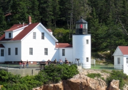 Visitors at Lighthouses