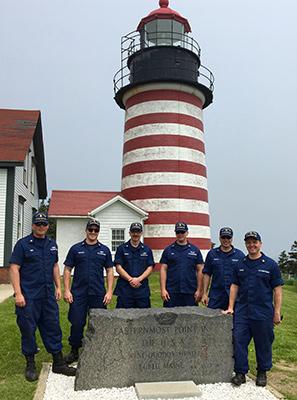 U.S. Coast Guard ANT Southwest Harbor