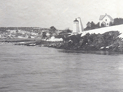 Original location of Doubling Point Light
