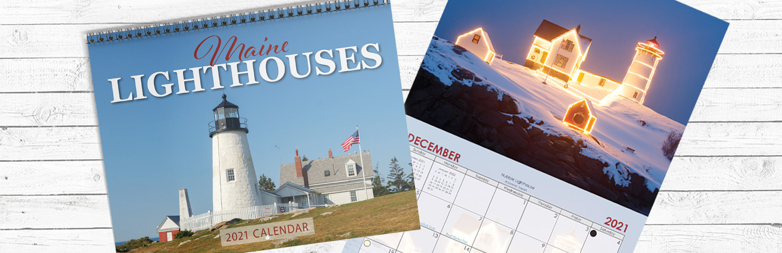 2021 Maine Lighthouse Calendar Released