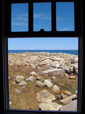 Keeper's house window