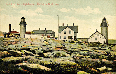 Matinicus Rock postcard