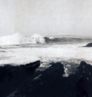 Rough seas at The Rock
