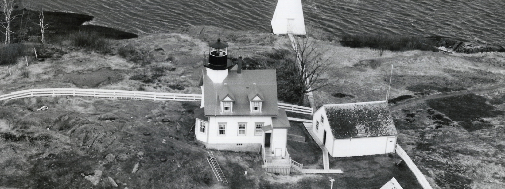 A Maine Lighthouse and its Connection to a National Christmas Tree