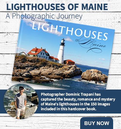 Lighthouses of Maine book by Dominic Trapani