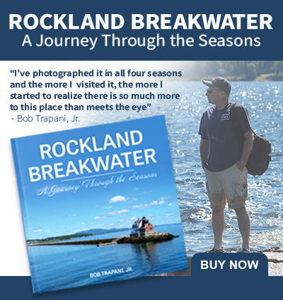 Rockland Breakwater book by Bob Trapani